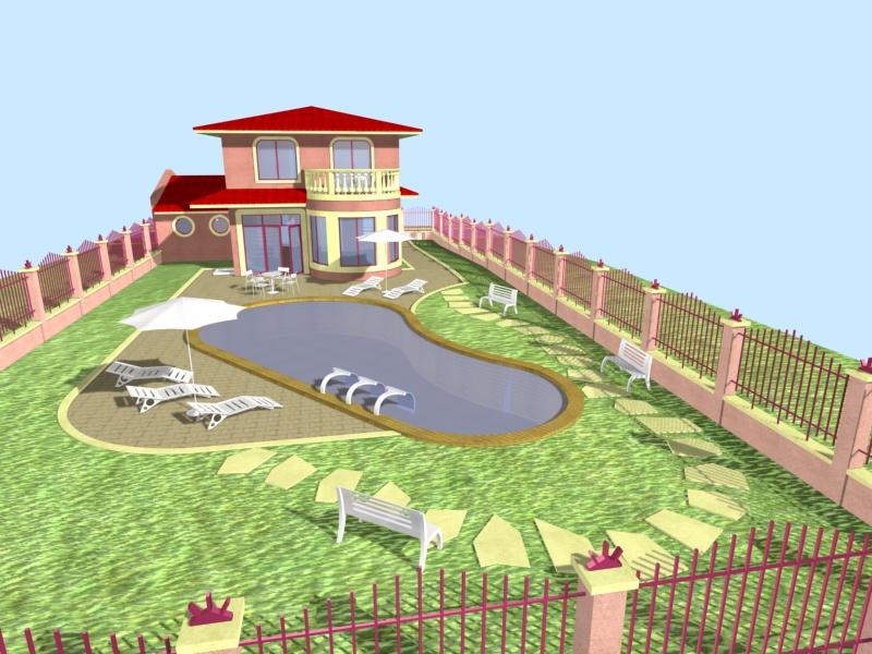 Land und Projekt zum Verkauf komplett mit Baugenehmigung abgeschlossen in Bulgarien in Konstantinovo Dorf.