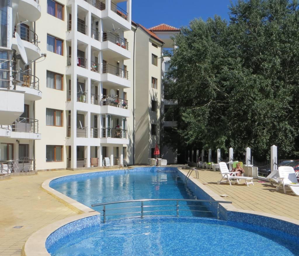 1 Zimmer Möblierte Wohnung in Bulgarien-Sonnen Strand