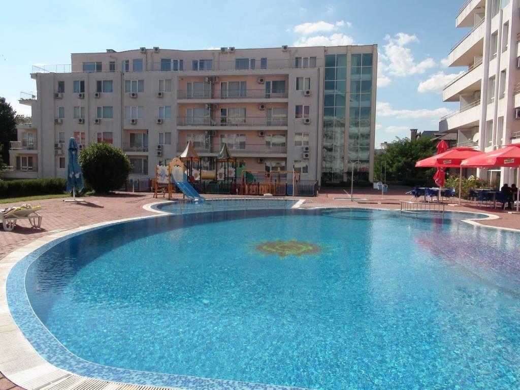 2 Zimmer möbilierte Wohnung in Bulgarien-Sarafovo – 250 Meter von Strand mit Meer blick