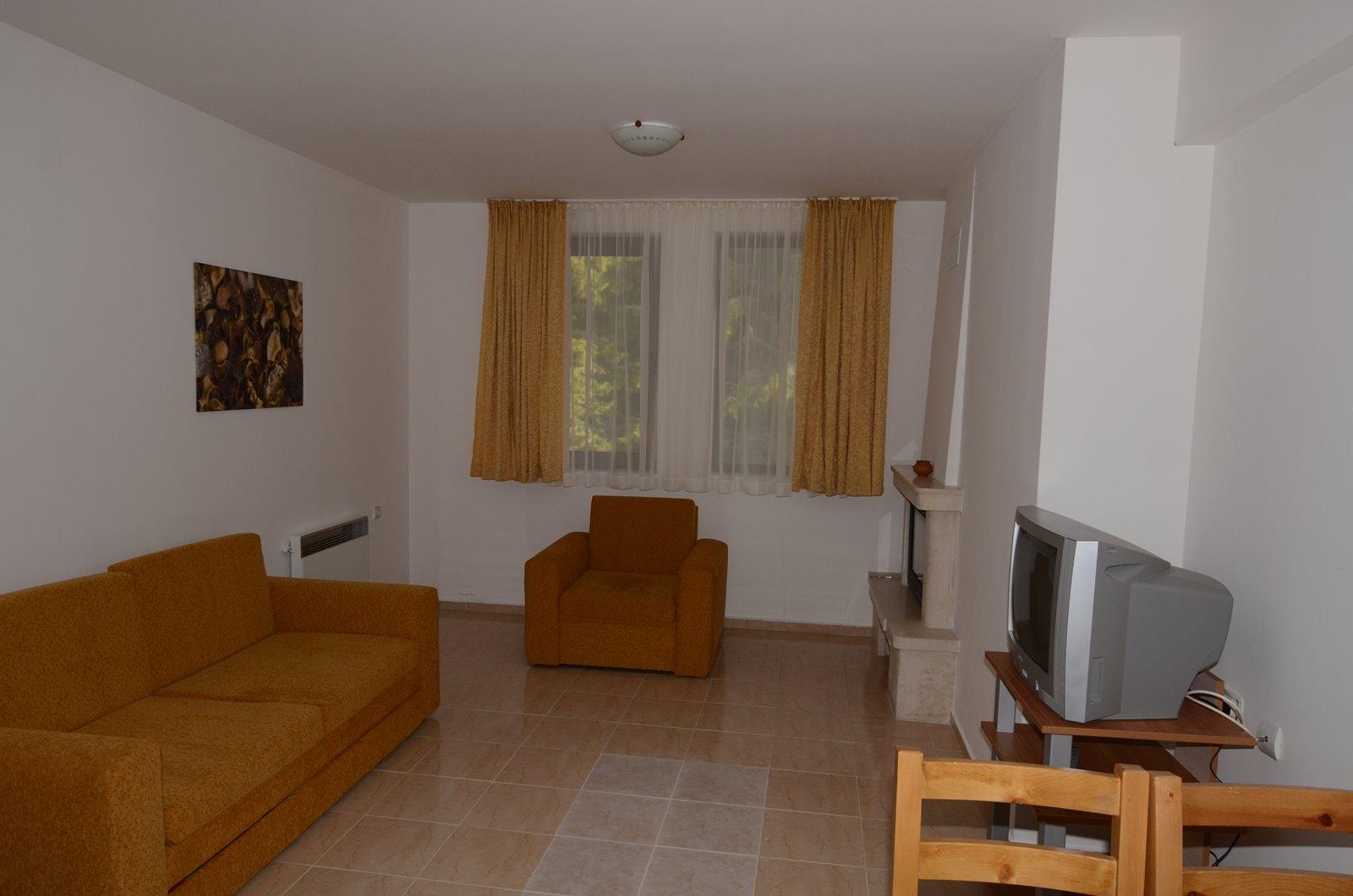 Möbilierte 2 Zimmer Wohnung in Bulgarien-Pamporovo